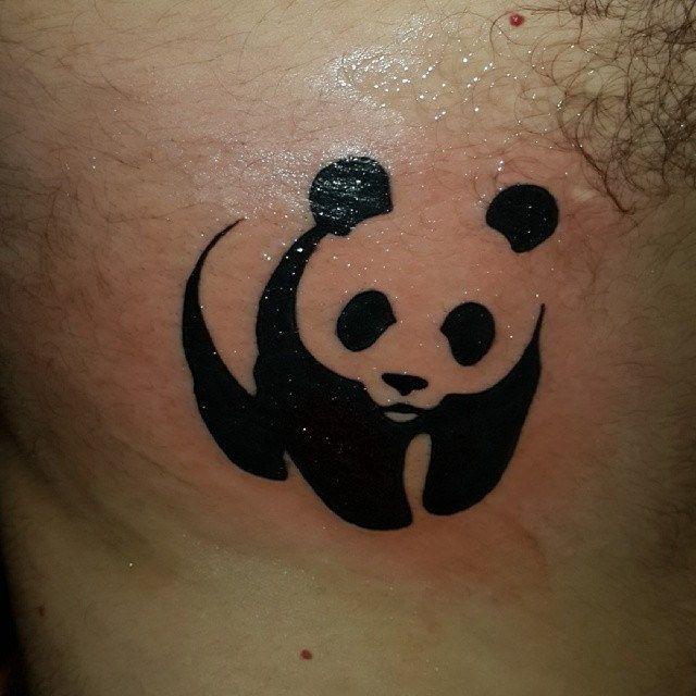 My new #tattoo by @eddytattoo11  #panda #wwf #wildlife #cute #photooftheday #nature #bear