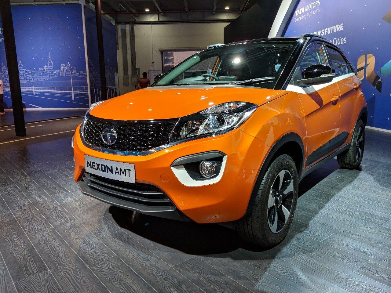 Tata Nexon AMT Auto Expo 2018 Live Tata cars, Tata
