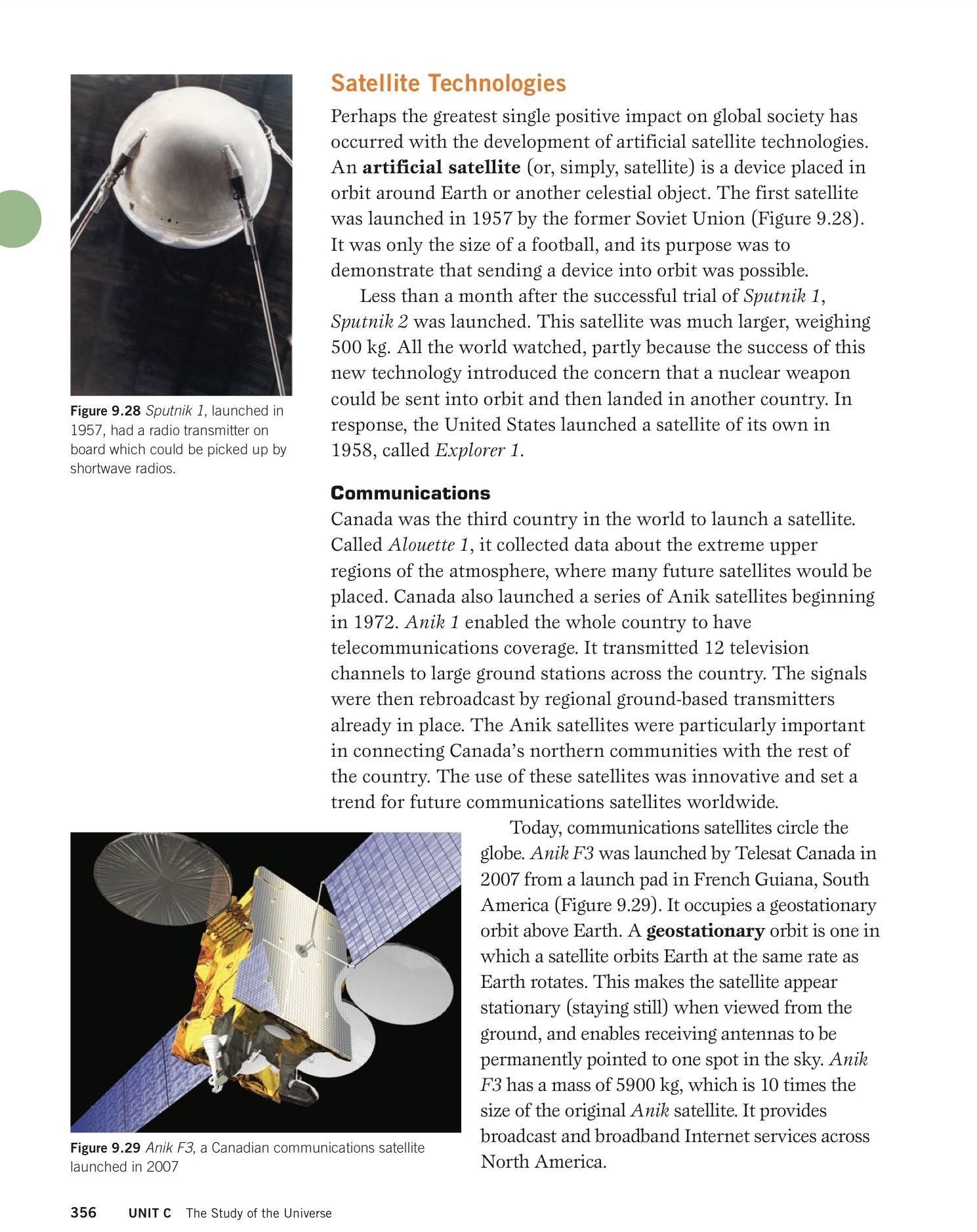 Satellite Technologies