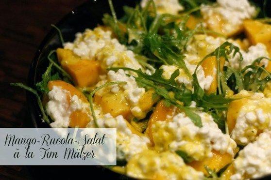Mango-Rucola-Salat à la Tim Mälzer - Kochliebe