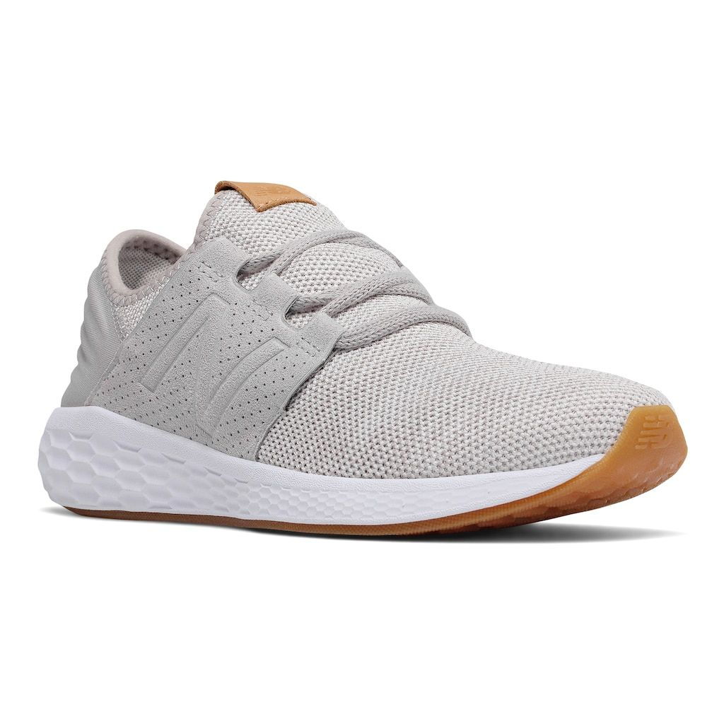 b443e5d0f8ce8 New Balance Fresh Foam Cruz v2 Knit Women's Sneakers, Size: 8.5 Wide, White