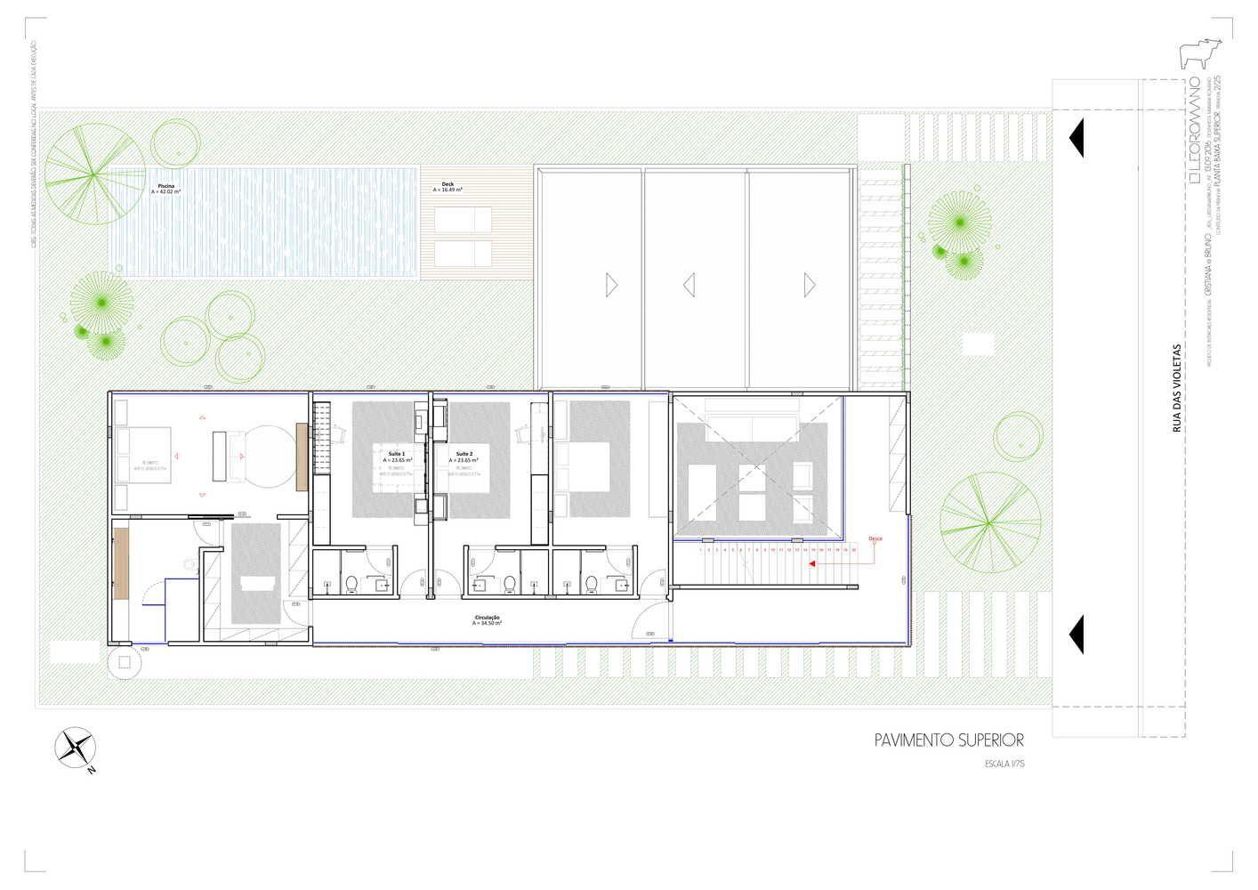 Galeria De Casa Dos Ventos Leo Romano 17 In 2021 Floor Plans Ground Floor Plan Layout