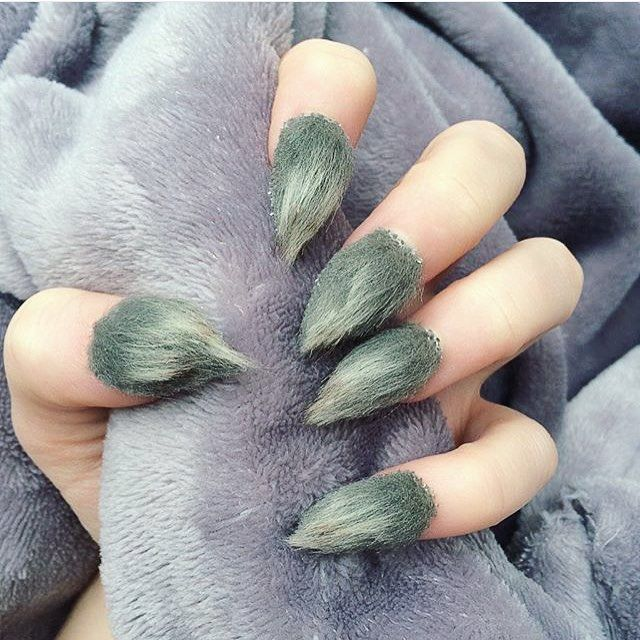 These Are the Must-Have Fall 2016 Nail Trends   Fur nails and Nail ...