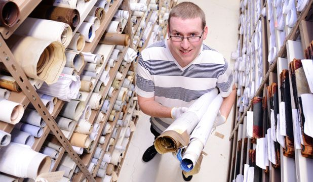 Where does Wellington's history live?  Interesting Job: Doug Parker an archives assistant at the Wellington City Archives.