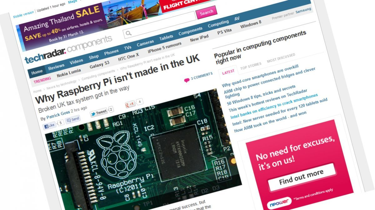 Future's TechRadar Reports Huge Growth in Website Traffic