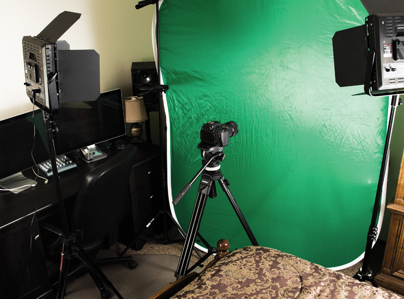 A Home Studio In A Small Room Will Enable A Setup For Shooting