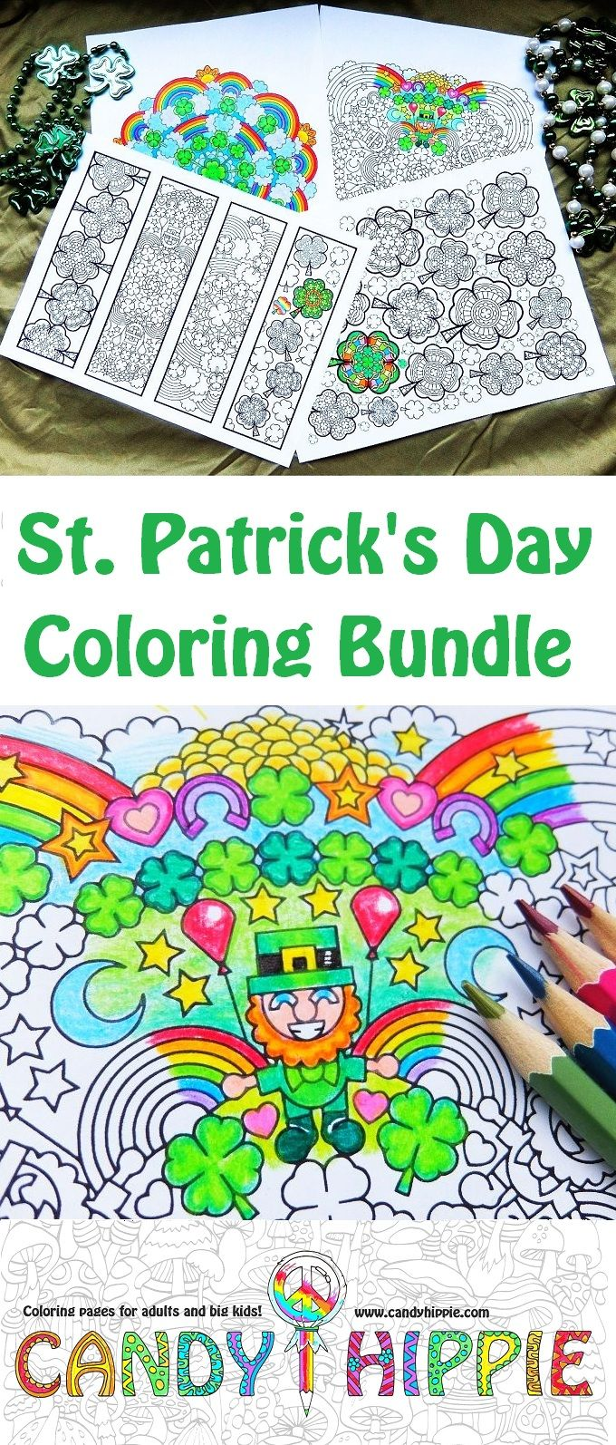 Printable St. Patrick\'s Day coloring pages to print and color ...