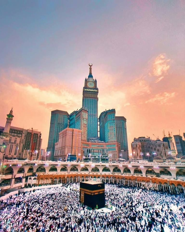 Umrah Banner: The Land Of Spiritualism, The Land Of Blessings, The Land