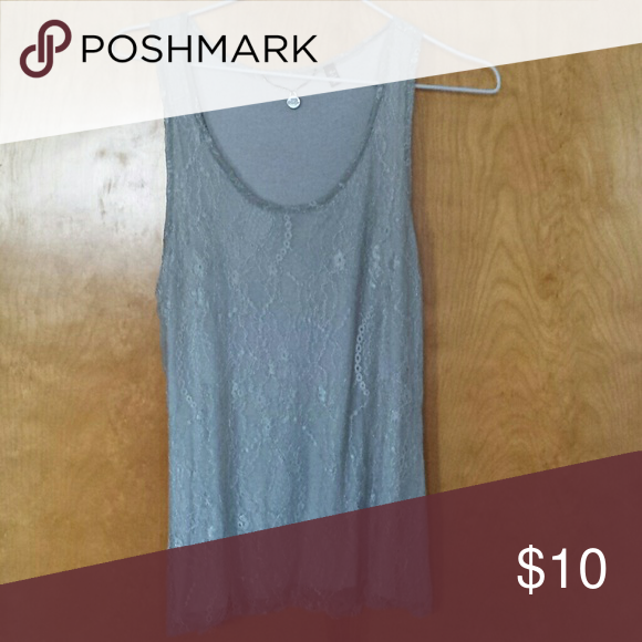 Tank top This is a perfect layering piece and has never been worn. Very comfy and would look great with a black Carrigan and some chunky jewelry! BKE Tops Tank Tops