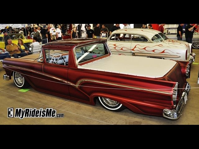 2012 GNRS Pictures - Ford Ranchero in the Suede Palace