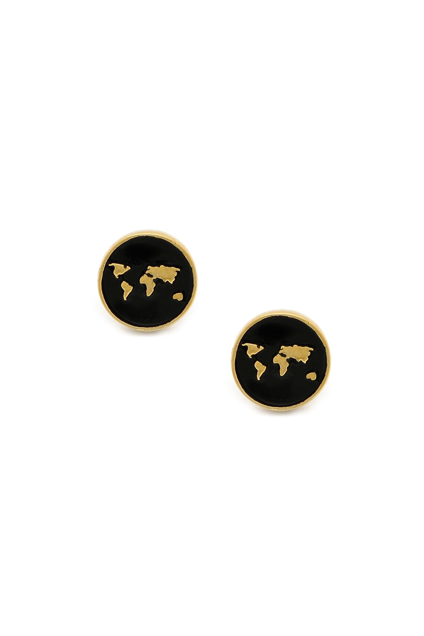0338a4aa8 Earth Map Studs | Little Rooms | Pinterest | Jewelry, Diamond are a ...