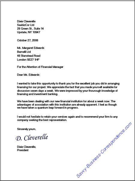 mla format formal letter