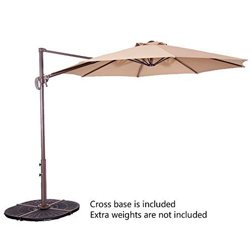 Le Papillon 10 Ft Cantilever Umbrella Outdoor Offset Pati Https Www Amazon Com Dp B06x9f8pdq Re Offset Patio Umbrella Patio Umbrella Large Patio Umbrellas