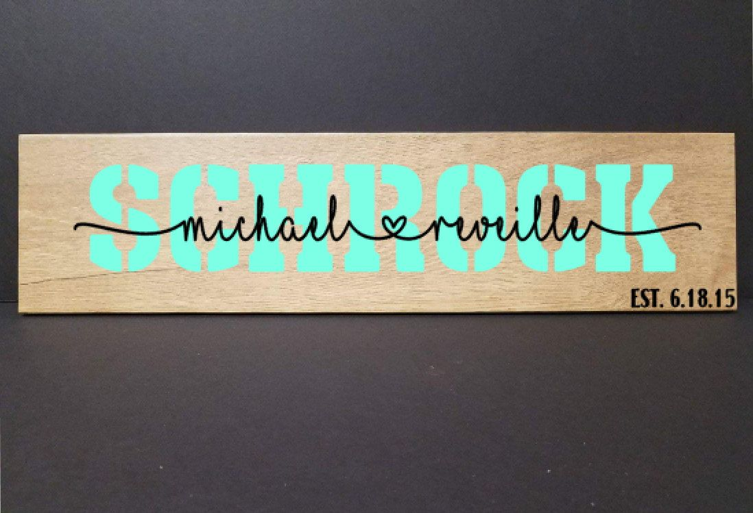 Personalized couples sign custom wood ceramic tile sign personalized couples sign custom wood ceramic tile sign personalized family sign personalized faux dailygadgetfo Choice Image