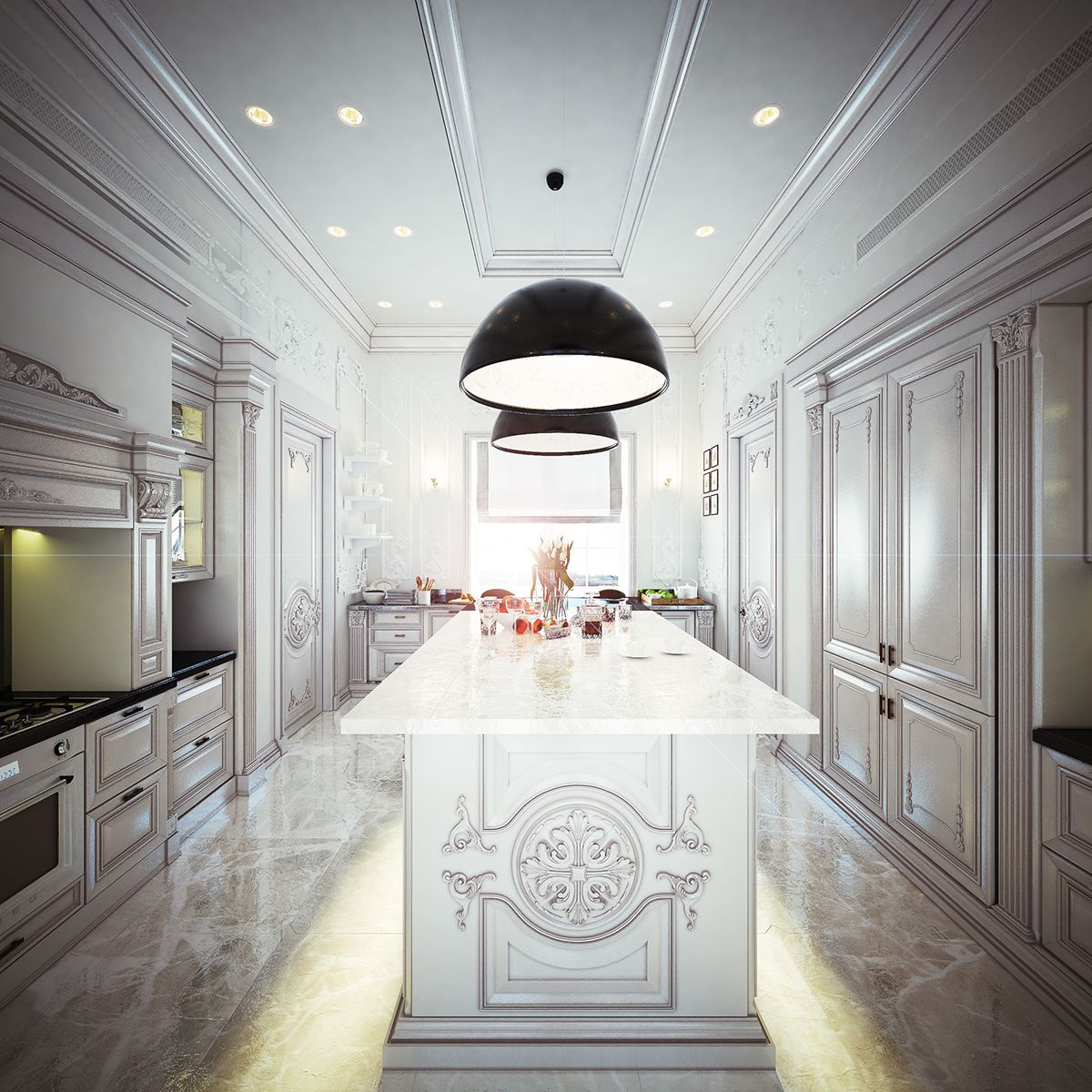 R Class Interior Design On Behance Interior Design Interior
