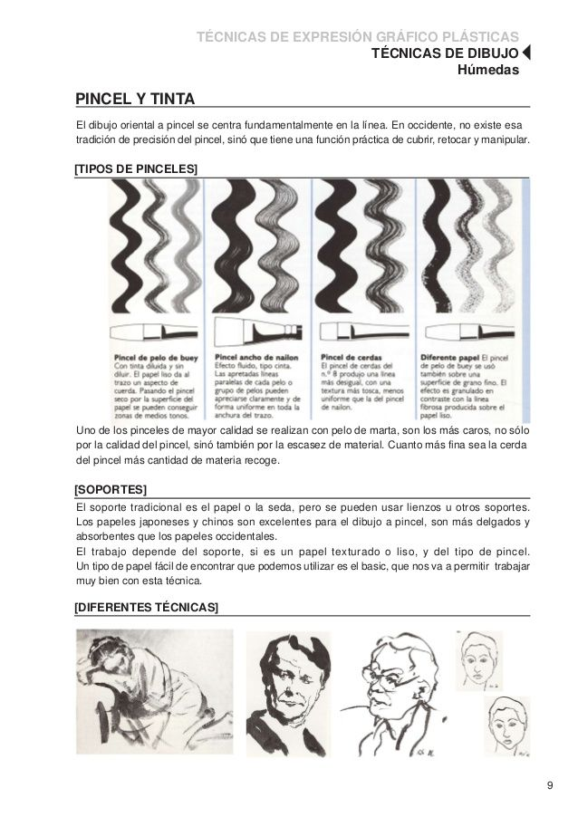 Tecnicas De Dibujo 10 638 Jpg 638 902 Tecnicas De Dibujo Dibujo Grafico Dibujos Artisticos