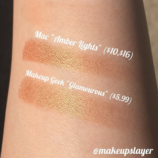 Good Dupethat : MAC Amber Lights Eyeshadow Dupe Design Ideas