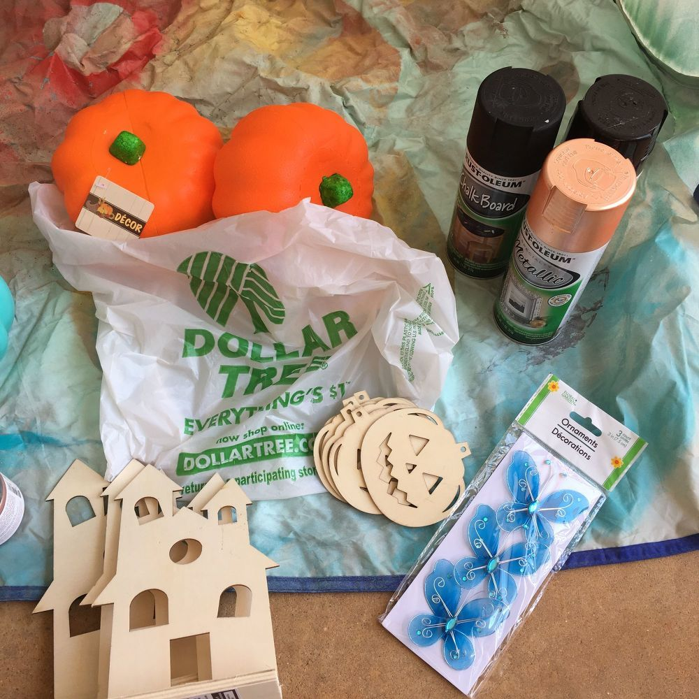 How to Make 3 Dollar Store Halloween Projects DIY Dollar