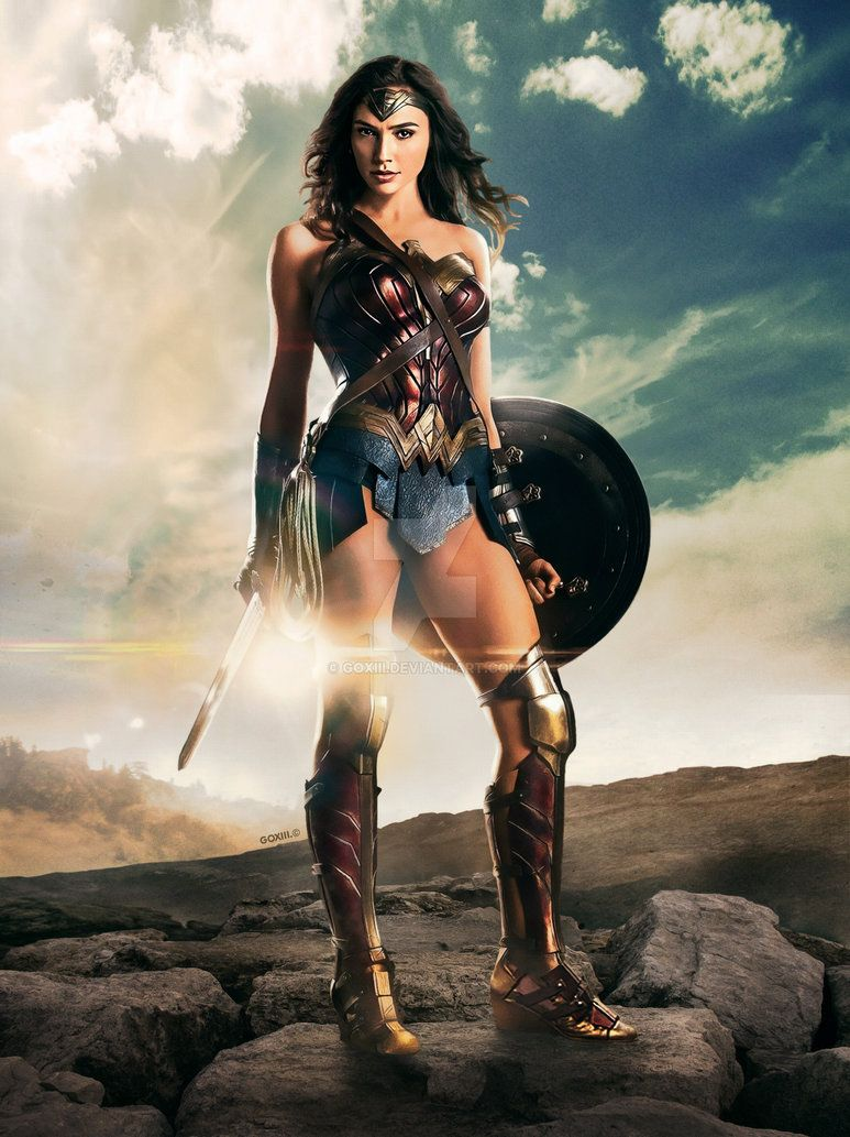 Justice League Wonder Woman By Goxiii Justice League Wonder Woman Wonder Woman Movie Wonder Woman
