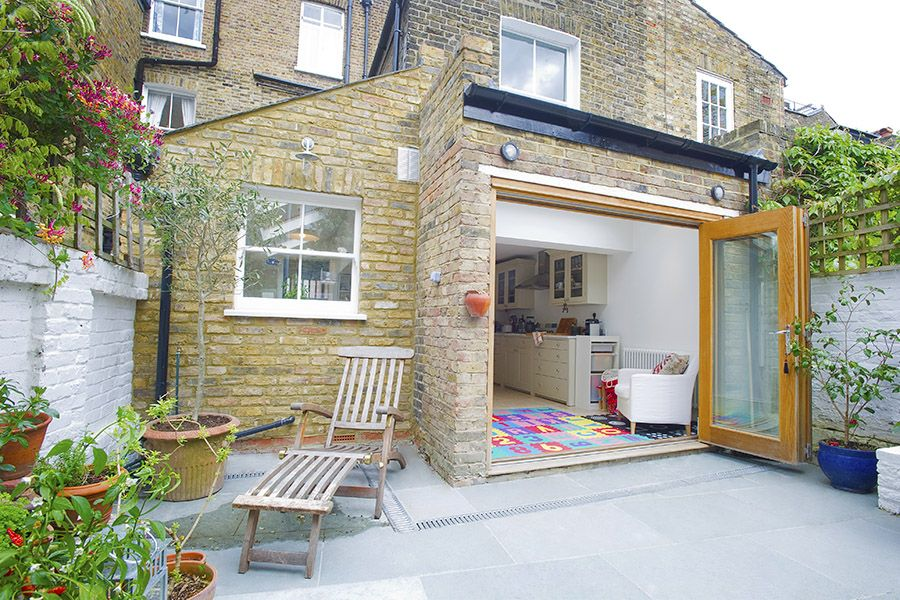 Stockwell in stockwell greater london side extension for Kitchen ideas terraced house
