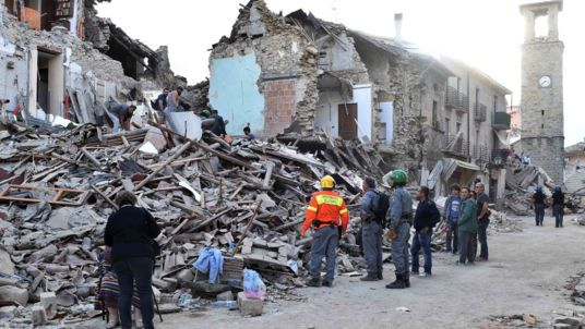At Least 159 Dead In Italy Earthquake As Towns Turned To Ruins