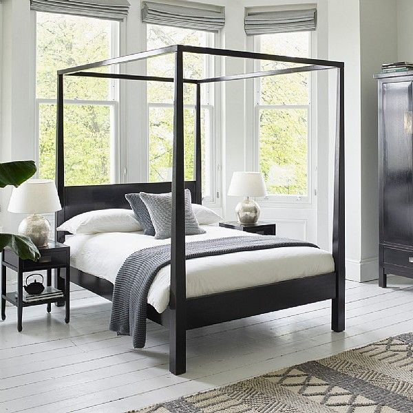 Canton Four Poster Bed Super King Size With Images Four Poster