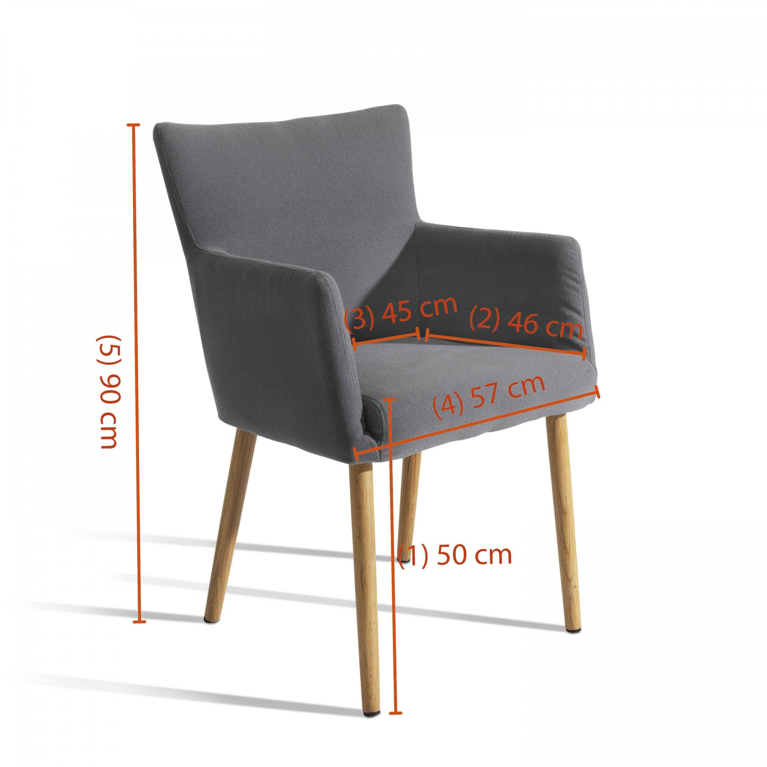 Stuhl, Hellgrau Lamole   4 Fuß Stühle   Stühle U0026 Freischwinger   Esszimmer    Möbel