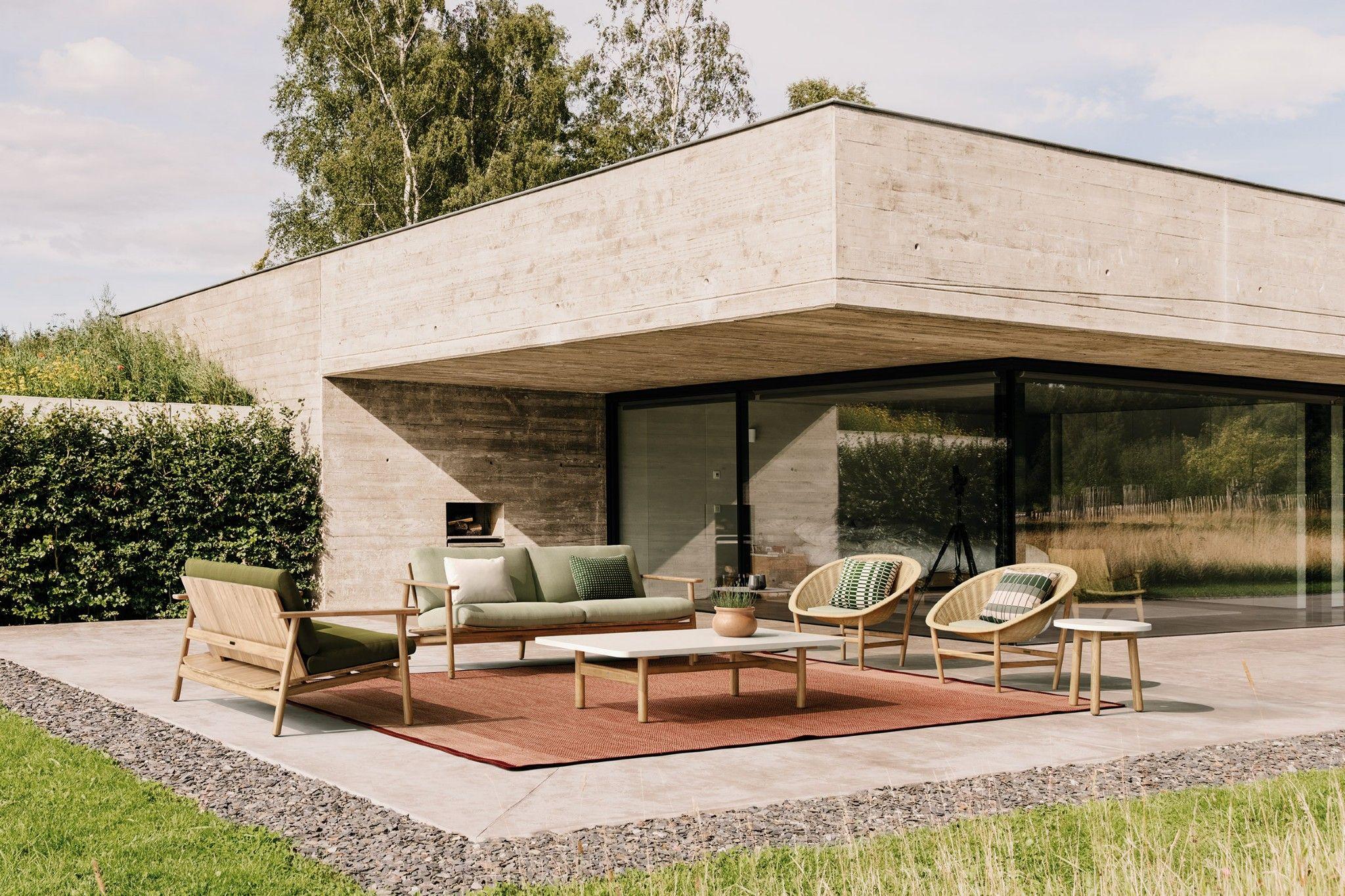 Kettal - Riva | Outdoor | Canapé jardin, Jardin minimaliste ...