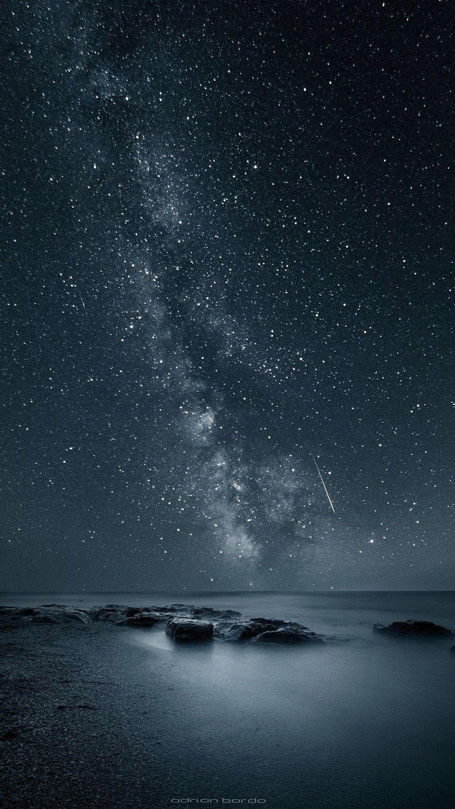 Starry Night Sky Di 2020