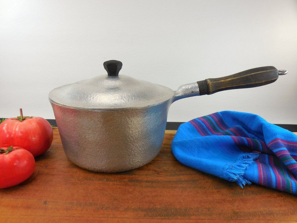 SOLD... Wear Ever 701-1/2 Aluminum Saucepan Pot & Lid - Vintage ...