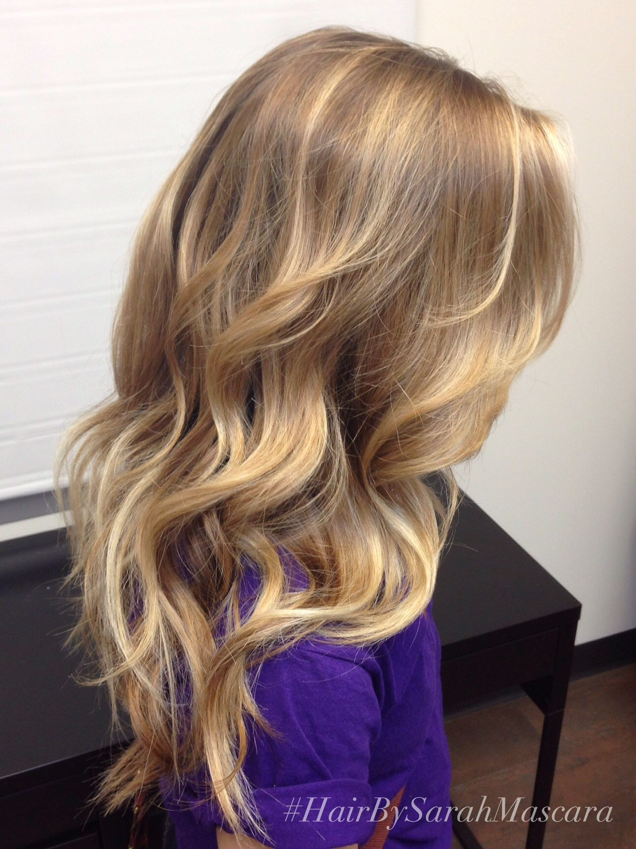 Sunkissed blonde balayage