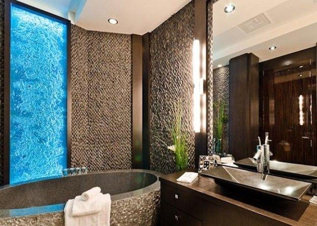 Fabuleux Case di lusso: bagno incredibile in Canada | le case piu belle del  HR27