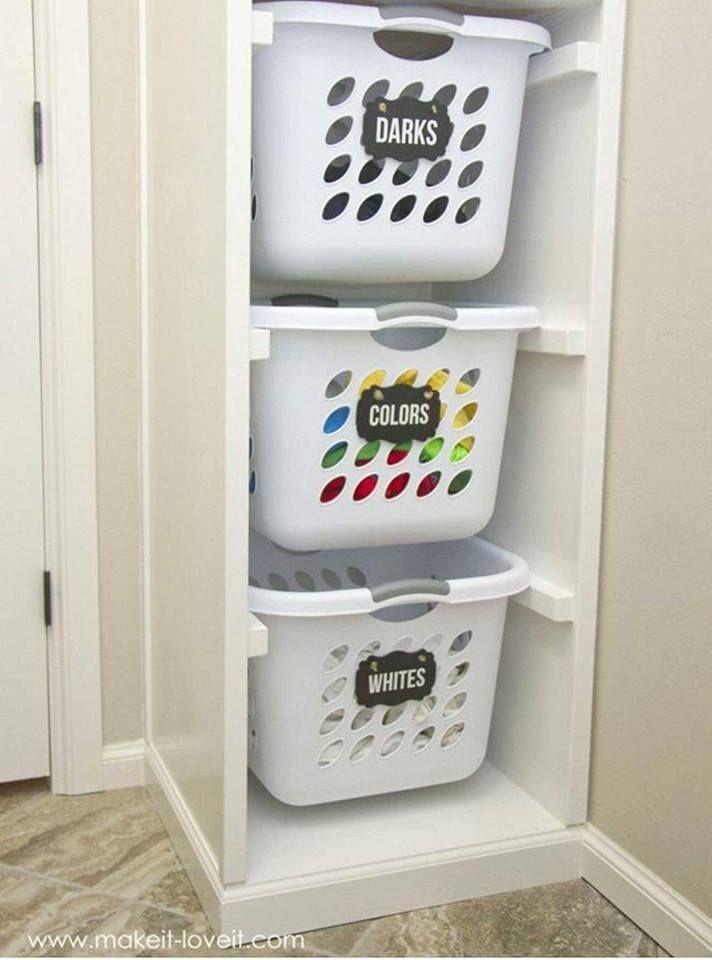Laundry Sorting Laundry Basket Organization Laundry Room Design