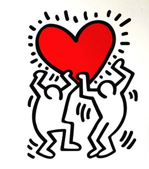 I've always kind of wanted this as a tattoo. Keith Haring | Art ...