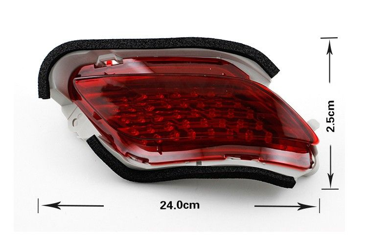 Car Accessories 12v Led Rear Bumper Reflector For Vios Tail Lamp