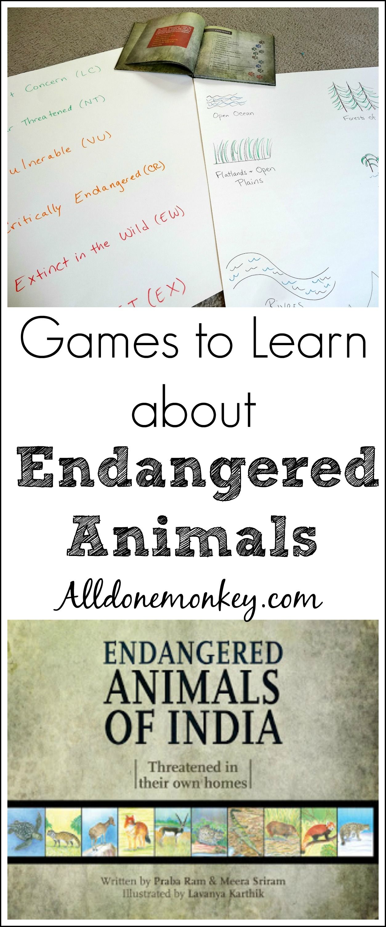 India Endangered Animals Games With Images