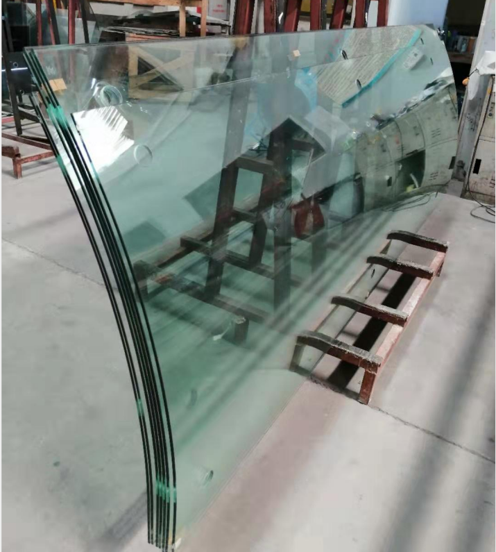 Wholesale Price Of The Hot Bending Toughened Tempered Curved Glass Glass Building Curved Glass Tempered Glass