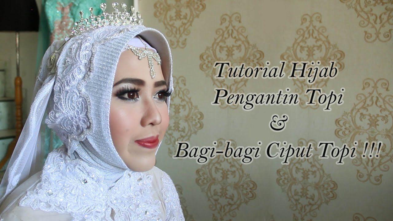 Gambar Tutorial Hijab Pengantin Modern Pengantin Gambar Hijab
