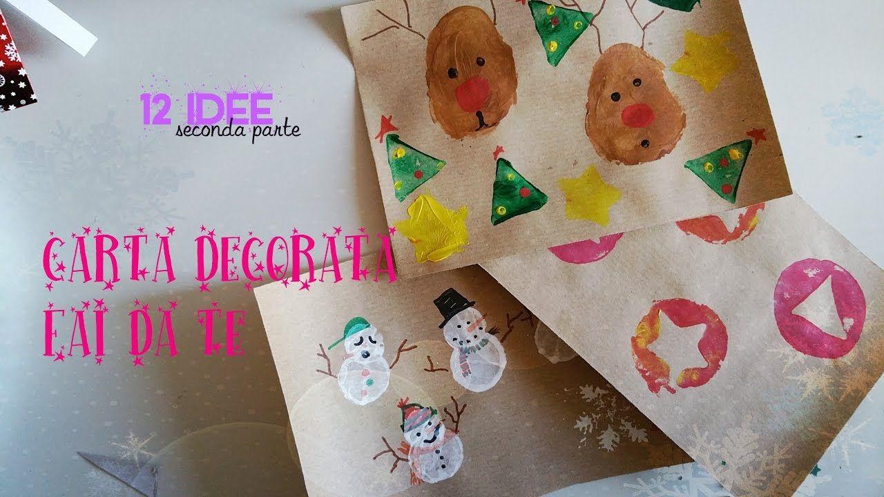 Come Fare Pacchetti Natalizi natale] pacchetti regalo fai da te: come decorare la carta