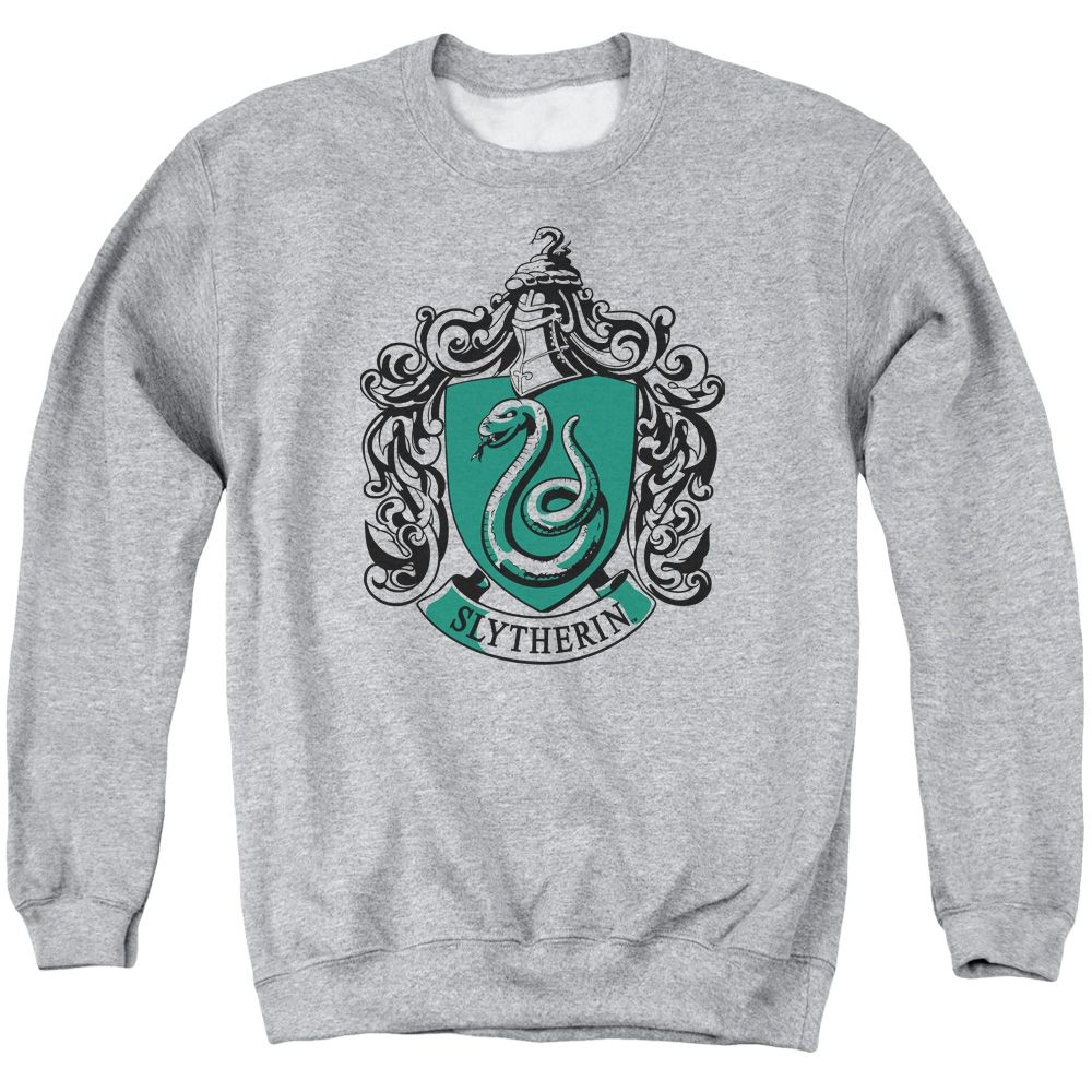 Trevco Harry Potter Slytherin Crest Crewneck Sweatshirt Small Walmart Com Slytherin Clothes Crew Neck Sweatshirt Harry Potter Outfits [ 1000 x 1000 Pixel ]