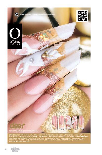 26 Pattern  René Ortiz / Promaster Organic® Nails Diseño publicado en la revista Lo Mejor No. 26 de Organic® Nails.   http://youtu.be/zSNvSPnud0E?list=PLVzihPafxEEwjNT0GraEhIaapZy8j2fXW