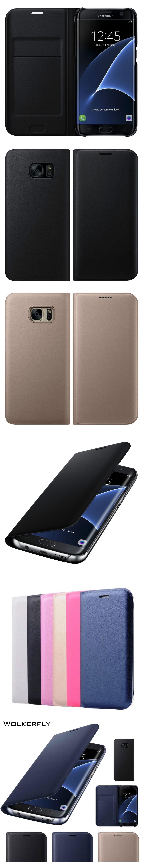 Luxury Card Slot Filp Phone Case for Samsung Galaxy Plus edge 2017 Prime Leather Case Coque Funda