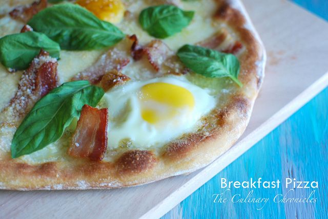 Breakfast Pizza by The Culinary Chronicles, via Flickr