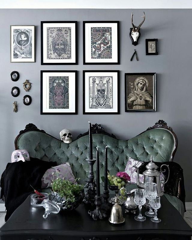Gothic Decorating Ideas see this instagram photo@attitude_clothing • 4,908 likes