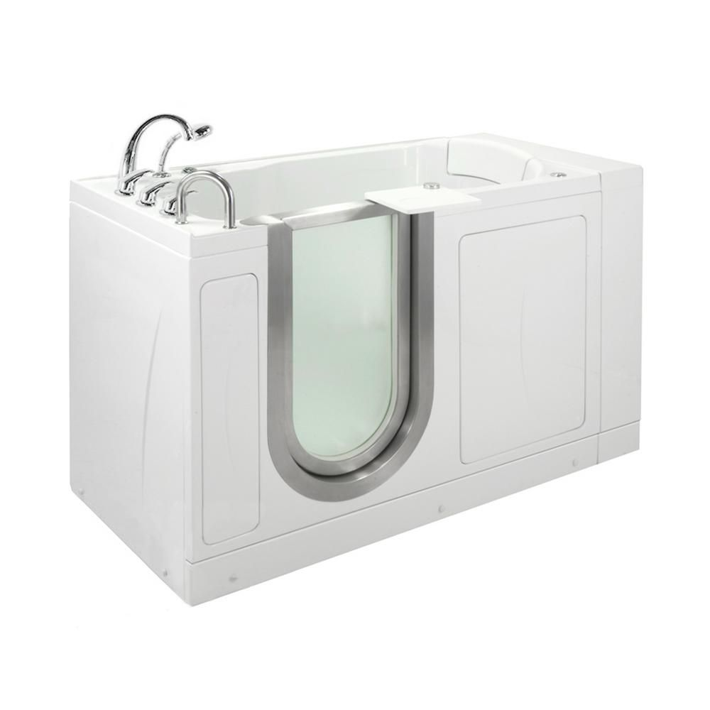 Walk Tub Shower With Revolutionary Water Tight Door Seal
