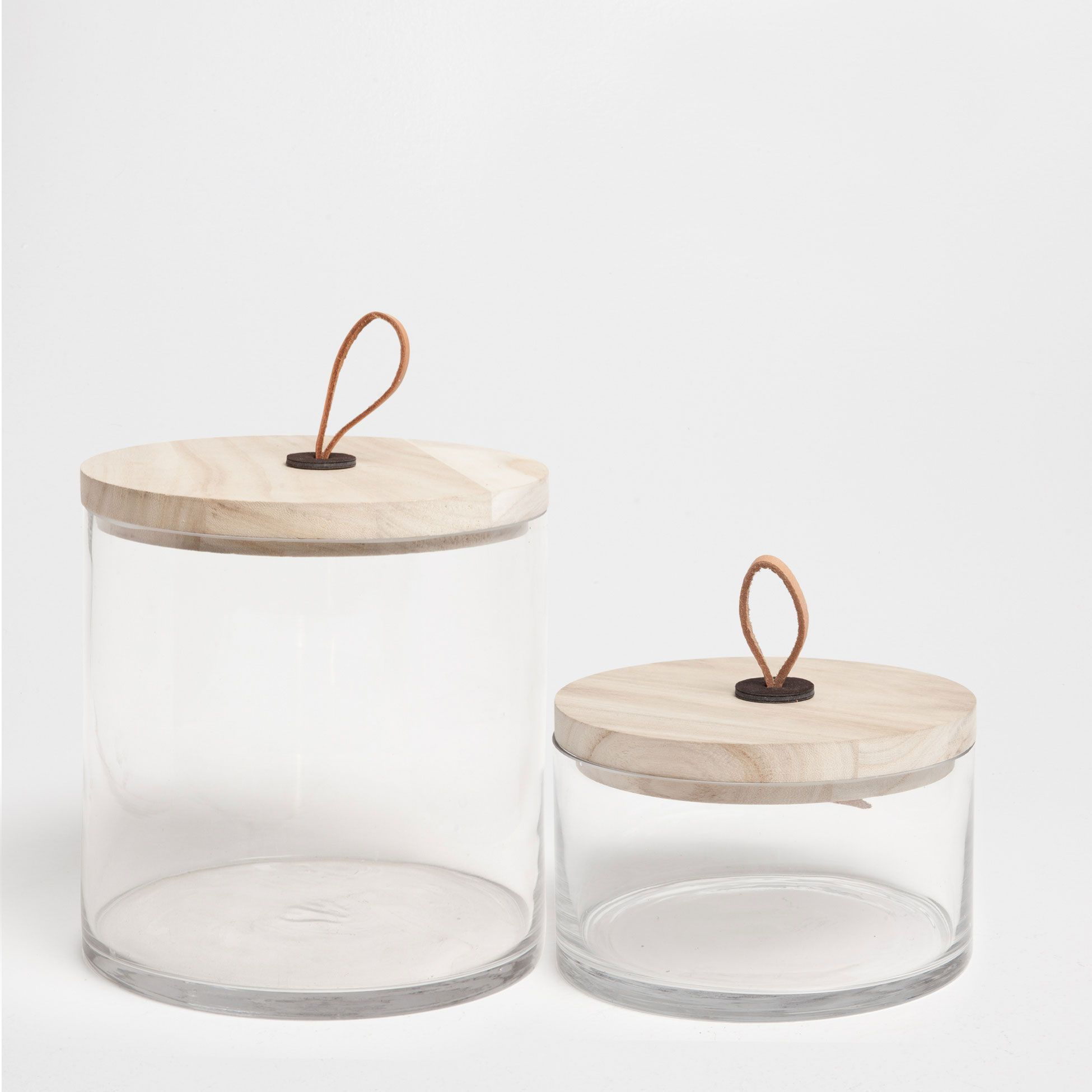 Glass Jar With Wooden Handles: Zara Home UK