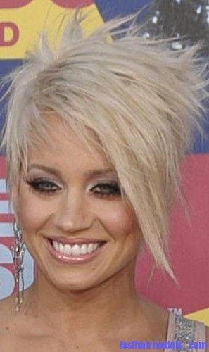 short textured blonde crop haircut