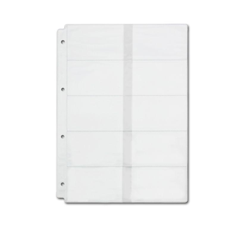2PCS Business Card PVC Pockets, Plastic Pocket Page Sleeve A4 size ...