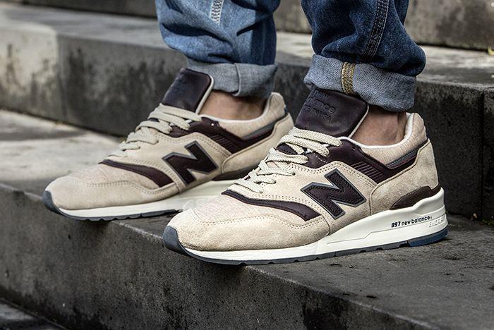 new balance 997 tan