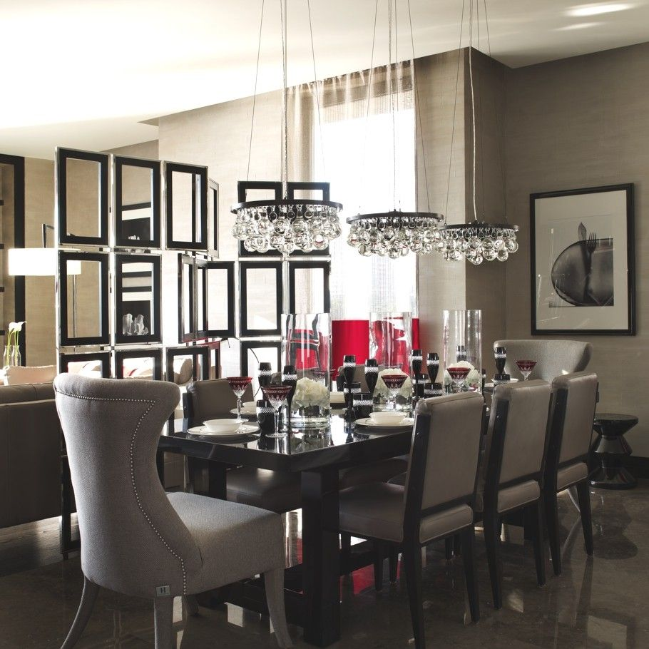 Dining Room By Kelly Hoppen For Yoo Barkli Virgin House Moscow